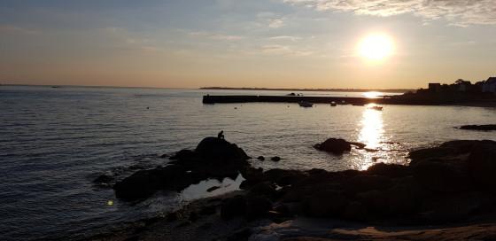 Concarneau sunset