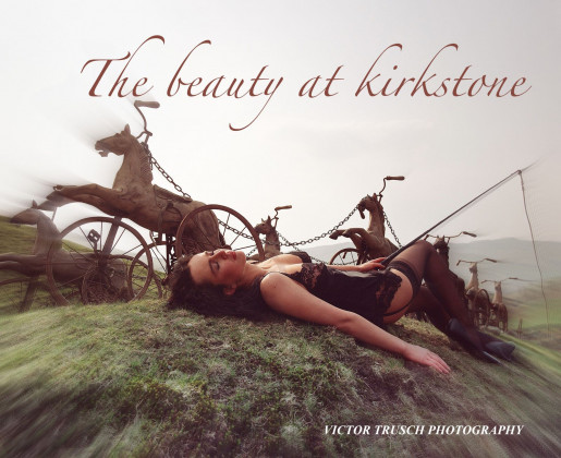 An artistic interpretation of Kirkstone Pass, Cumbria, UK