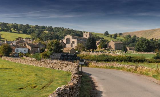 The village of Dent, Cumbria (UK)