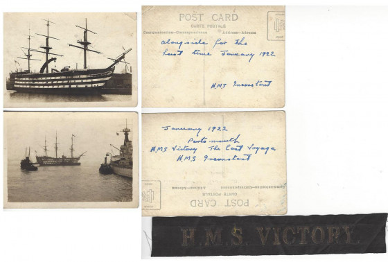 HMS Victory in 1922