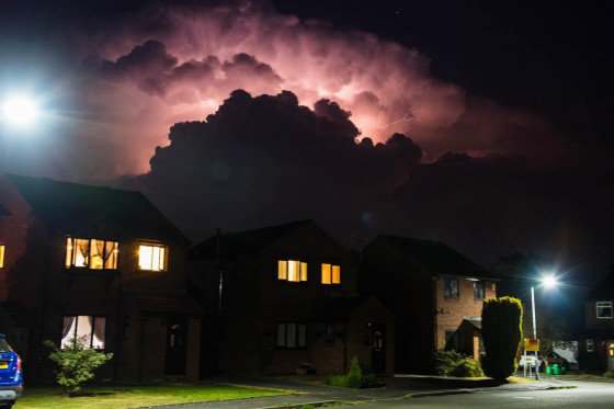 Thunderstorms in the UK