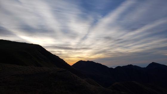 sunrise at Santa Ana