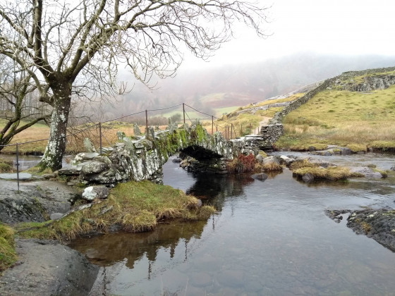 A peaceful scene in the English Lake District