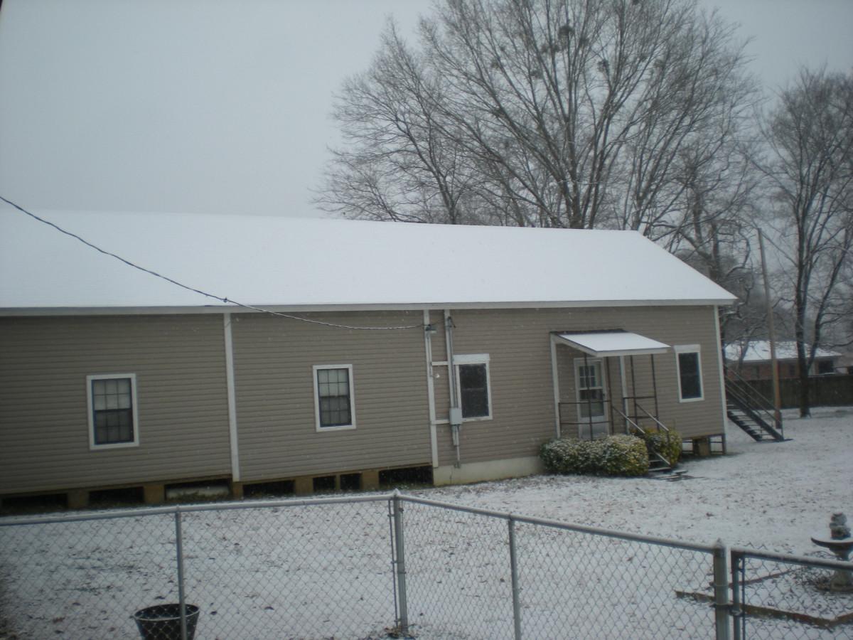 Snow In Arkansas