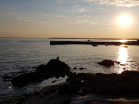 Concarneau sunset