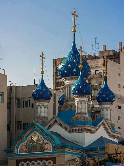 Iglesia Ortodoxa Rusa de la Santísima Trinidad  Brasil 315, San Telmo