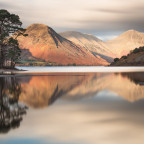 A beautiful calm scene at Wast Water, Cumbria.