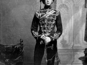 Winston Churchill aged 21 in 1895