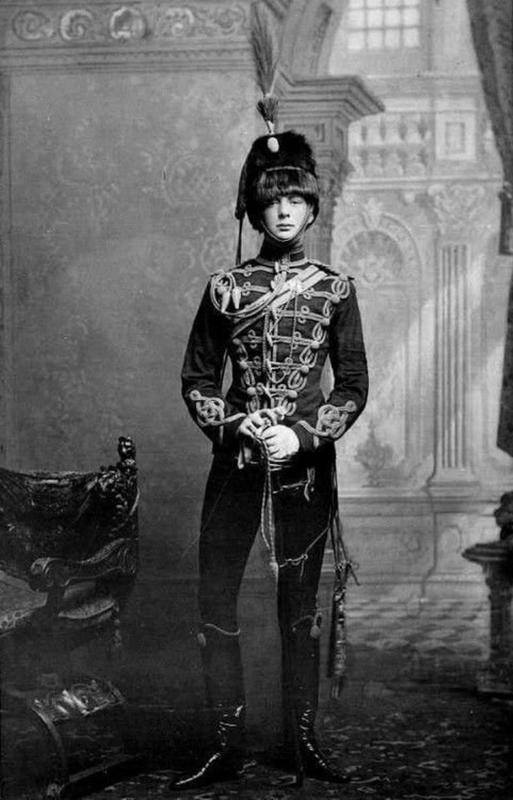 Winston Churchill aged 21 in 1895