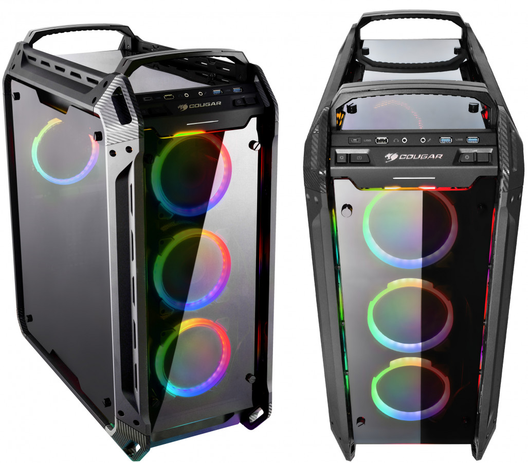 Cougar RGB tempered glass full tower case