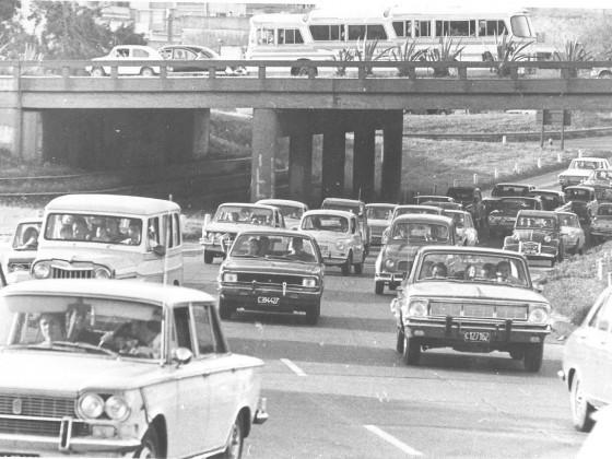 Avenida General Paz. April 1973