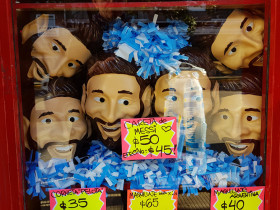 The Messi mask